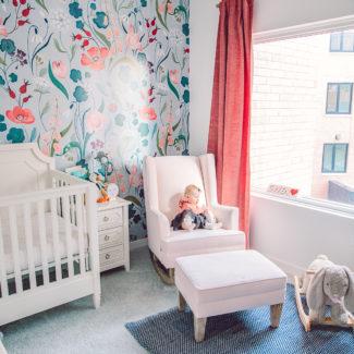 Gwen's Nursery | Baby Girl Nursery Design