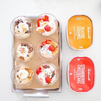 Easy Ice Cream Parfaits