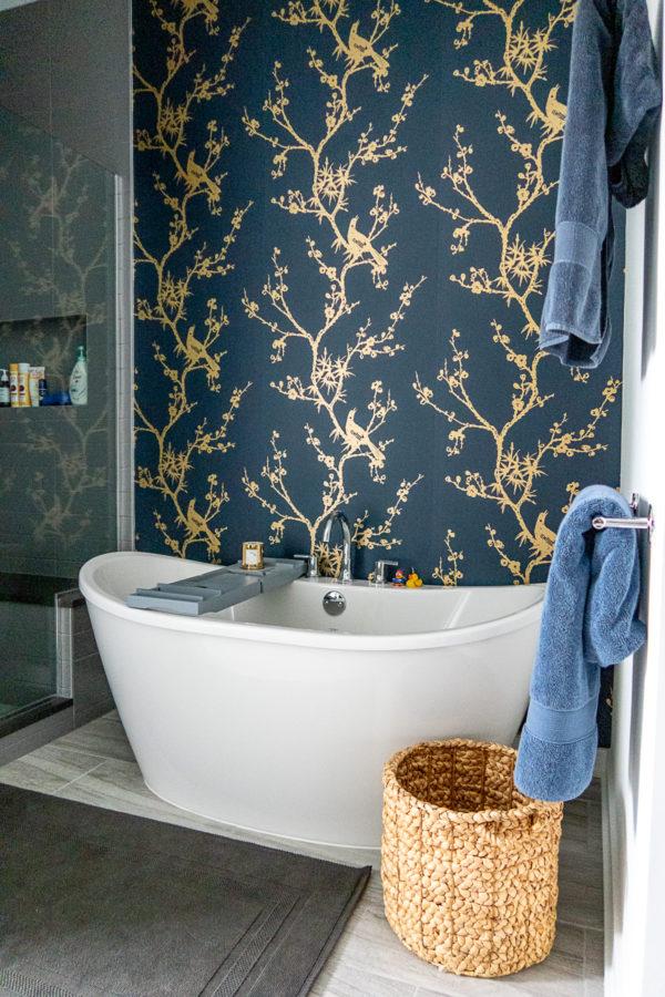 Bold Modern Primary Bathroom Design