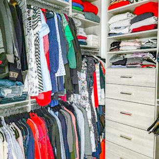 Our Primary Closet